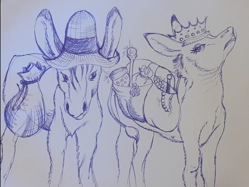 I due muli da soma