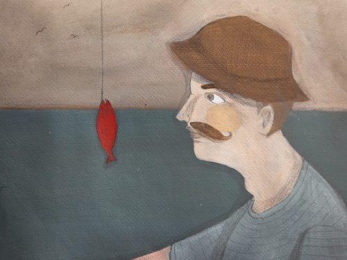 Il pesciolino e il pescatore